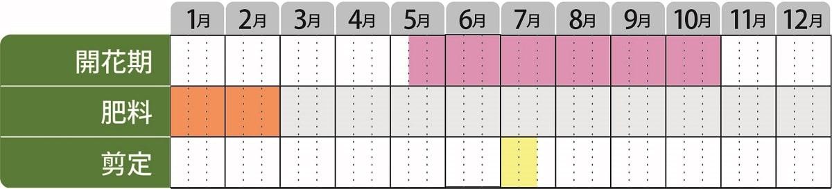 栽培カレンダー_ワイゲラタニウツギ